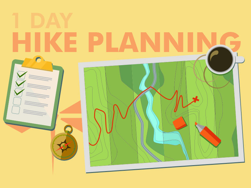 Plan out your hike